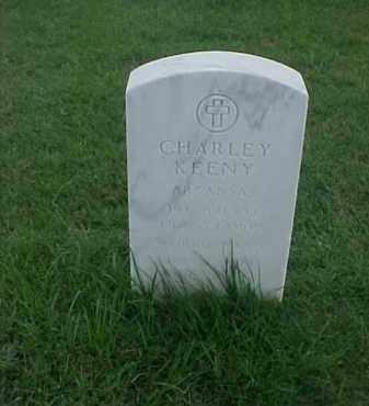 KEENY (VETERAN WWI), CHARLEY - Pulaski County, Arkansas | CHARLEY KEENY (VETERAN WWI) - Arkansas Gravestone Photos