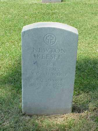 KEESEE (VETERAN WWI), NEWTON - Pulaski County, Arkansas | NEWTON KEESEE (VETERAN WWI) - Arkansas Gravestone Photos