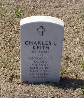 KEITH (VETERAN 2 WARS), CHARLES L - Pulaski County, Arkansas | CHARLES L KEITH (VETERAN 2 WARS) - Arkansas Gravestone Photos