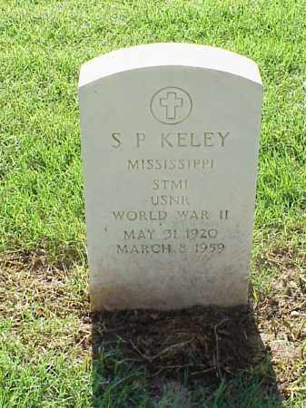 KELEY (VETERAN WWII), S P - Pulaski County, Arkansas | S P KELEY (VETERAN WWII) - Arkansas Gravestone Photos