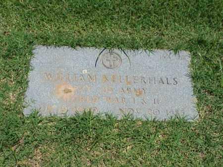 KELLERHALS (VETERAN 2 WARS), WILLIAM - Pulaski County, Arkansas | WILLIAM KELLERHALS (VETERAN 2 WARS) - Arkansas Gravestone Photos