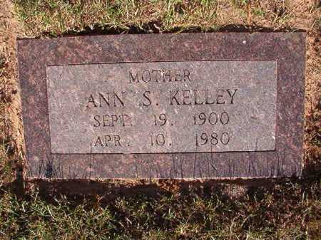 KELLEY, ANN S - Pulaski County, Arkansas | ANN S KELLEY - Arkansas Gravestone Photos