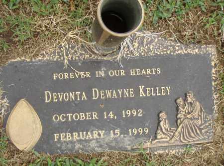 KELLEY, DEVONTA DEWAYNE - Pulaski County, Arkansas | DEVONTA DEWAYNE KELLEY - Arkansas Gravestone Photos