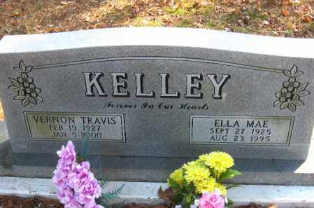 KELLEY, VERNON TRAVIS - Pulaski County, Arkansas | VERNON TRAVIS KELLEY - Arkansas Gravestone Photos