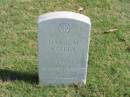 KELLEY (VETERAN KOR), DAVID M - Pulaski County, Arkansas | DAVID M KELLEY (VETERAN KOR) - Arkansas Gravestone Photos