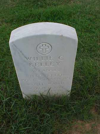 KELLEY (VETERAN WWII), WILLIE C - Pulaski County, Arkansas | WILLIE C KELLEY (VETERAN WWII) - Arkansas Gravestone Photos