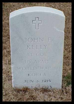 KELLY (VETERAN 2 WARS), JOHN F - Pulaski County, Arkansas | JOHN F KELLY (VETERAN 2 WARS) - Arkansas Gravestone Photos