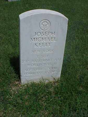 KELLY (VETERAN WWII), JOSEPH MICHAEL - Pulaski County, Arkansas | JOSEPH MICHAEL KELLY (VETERAN WWII) - Arkansas Gravestone Photos