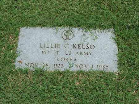 KELSO (VETERAN KOR), LILLIE C - Pulaski County, Arkansas | LILLIE C KELSO (VETERAN KOR) - Arkansas Gravestone Photos