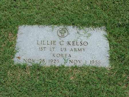KELSO (VETERAN KOR), LILLIE C - Pulaski County, Arkansas | LILLIE C KELSO (VETERAN KOR) - Arkansas Gravestone Photos