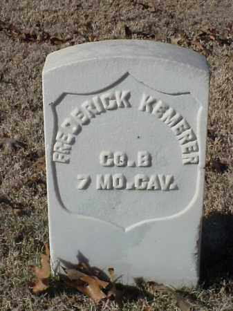 KEMERER (VETERAN UNION), FREDERICK - Pulaski County, Arkansas | FREDERICK KEMERER (VETERAN UNION) - Arkansas Gravestone Photos