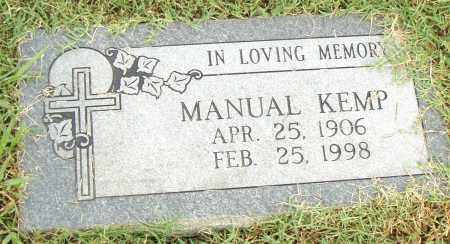 KEMP, MANUAL - Pulaski County, Arkansas | MANUAL KEMP - Arkansas Gravestone Photos