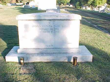 KEMPER, JAMES MENDEL - Pulaski County, Arkansas | JAMES MENDEL KEMPER - Arkansas Gravestone Photos
