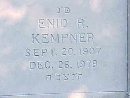 KEMPNER, ENID R - Pulaski County, Arkansas | ENID R KEMPNER - Arkansas Gravestone Photos