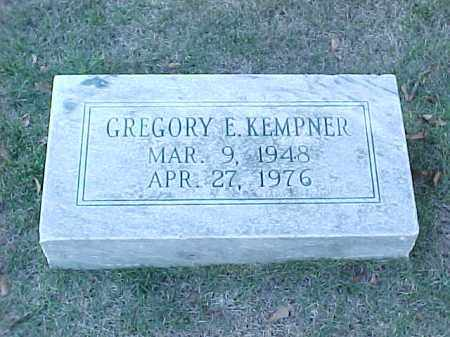 KEMPNER, GREGORY E - Pulaski County, Arkansas | GREGORY E KEMPNER - Arkansas Gravestone Photos