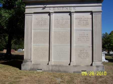 KEMPNER MAUSOLEUM,  - Pulaski County, Arkansas |  KEMPNER MAUSOLEUM - Arkansas Gravestone Photos
