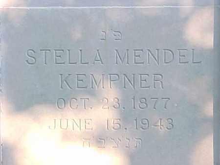 KEMPNER, STELLA - Pulaski County, Arkansas | STELLA KEMPNER - Arkansas Gravestone Photos