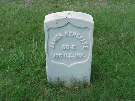 KENEFAKE (VETERAN UNION), JAMES - Pulaski County, Arkansas | JAMES KENEFAKE (VETERAN UNION) - Arkansas Gravestone Photos