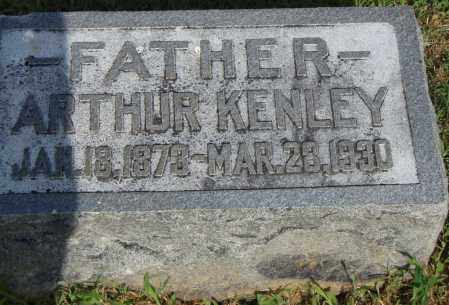 KENLEY, ARTHUR - Pulaski County, Arkansas | ARTHUR KENLEY - Arkansas Gravestone Photos
