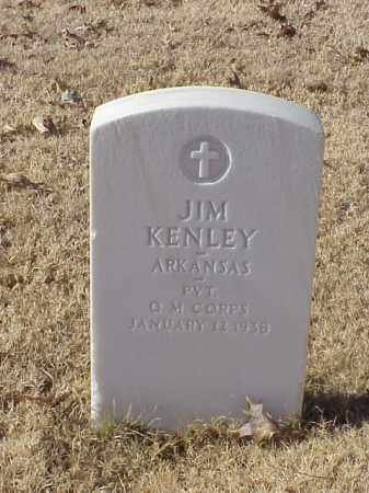 KENLEY (VETERAN WWI), JIM - Pulaski County, Arkansas | JIM KENLEY (VETERAN WWI) - Arkansas Gravestone Photos
