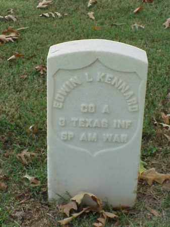 KENNARD (VETERAN SAW), EDWIN L - Pulaski County, Arkansas | EDWIN L KENNARD (VETERAN SAW) - Arkansas Gravestone Photos