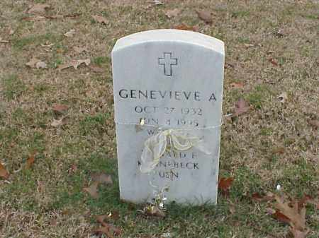 KENNEBECK, GENEVIEVE A - Pulaski County, Arkansas | GENEVIEVE A KENNEBECK - Arkansas Gravestone Photos