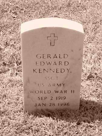 KENNEDY (VETERAN WWII), GERALD EDWARD - Pulaski County, Arkansas | GERALD EDWARD KENNEDY (VETERAN WWII) - Arkansas Gravestone Photos