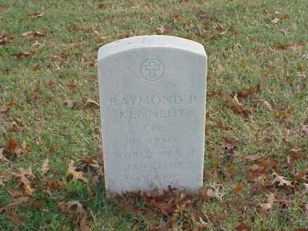 KENNEDY (VETERAN WWII), RAYMOND P - Pulaski County, Arkansas | RAYMOND P KENNEDY (VETERAN WWII) - Arkansas Gravestone Photos
