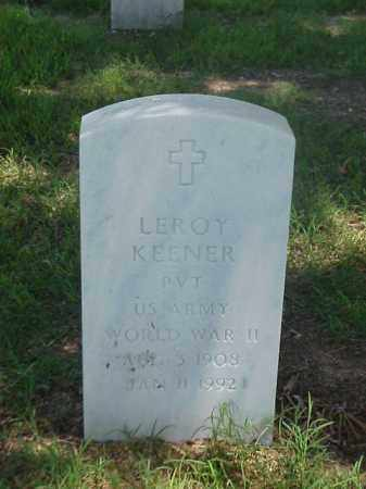 KENNER (VETERAN WWII), LEROY - Pulaski County, Arkansas | LEROY KENNER (VETERAN WWII) - Arkansas Gravestone Photos
