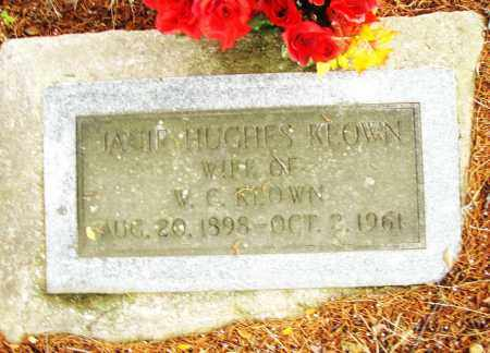 HUGHES KEOWN, JANIE - Pulaski County, Arkansas | JANIE HUGHES KEOWN - Arkansas Gravestone Photos