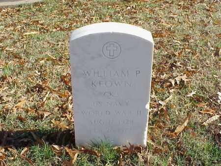 KEOWN (VETERAN WWII), WILLIAM P - Pulaski County, Arkansas | WILLIAM P KEOWN (VETERAN WWII) - Arkansas Gravestone Photos