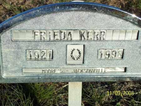 KERR, FRIEDA NALTIA - Pulaski County, Arkansas | FRIEDA NALTIA KERR - Arkansas Gravestone Photos