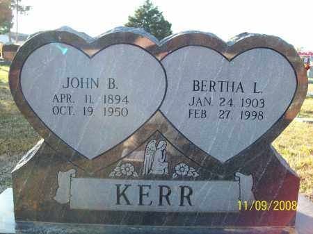 ADKINS KERR, BERTHA LEONA - Pulaski County, Arkansas | BERTHA LEONA ADKINS KERR - Arkansas Gravestone Photos