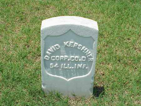 KERSHNER (VETERAN UNION), DAVID - Pulaski County, Arkansas | DAVID KERSHNER (VETERAN UNION) - Arkansas Gravestone Photos
