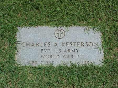 KESTERSON (VETERAN WWII), CHARLES A - Pulaski County, Arkansas | CHARLES A KESTERSON (VETERAN WWII) - Arkansas Gravestone Photos