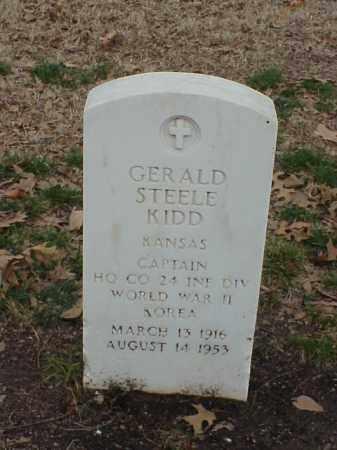 KIDD (VETERAN 2 WARS), GERALD STEELE - Pulaski County, Arkansas | GERALD STEELE KIDD (VETERAN 2 WARS) - Arkansas Gravestone Photos