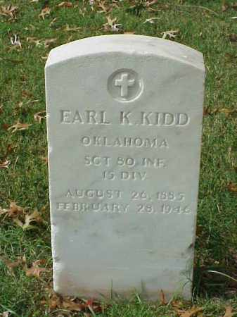 KIDD (VETERAN WWI), EARL K - Pulaski County, Arkansas | EARL K KIDD (VETERAN WWI) - Arkansas Gravestone Photos