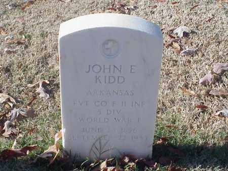 KIDD (VETERAN WWI), JOHN E - Pulaski County, Arkansas | JOHN E KIDD (VETERAN WWI) - Arkansas Gravestone Photos