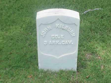 KILBURN (VETERAN UNION), JOHN - Pulaski County, Arkansas | JOHN KILBURN (VETERAN UNION) - Arkansas Gravestone Photos
