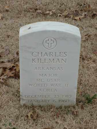 KILLMAN (VETERAN 2 WARS), CHARLES - Pulaski County, Arkansas | CHARLES KILLMAN (VETERAN 2 WARS) - Arkansas Gravestone Photos