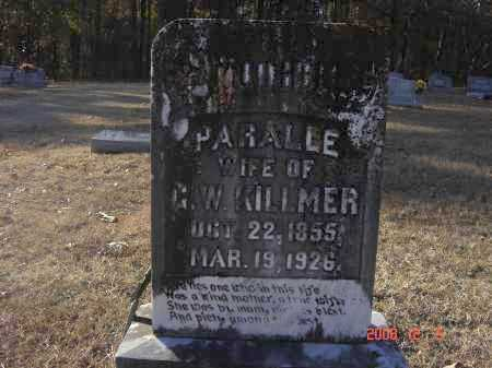 KILLMER, PARALLE - Pulaski County, Arkansas | PARALLE KILLMER - Arkansas Gravestone Photos