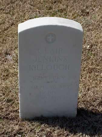 KILLOUGH (VETERAN WWI), CLAIR JENKINS - Pulaski County, Arkansas | CLAIR JENKINS KILLOUGH (VETERAN WWI) - Arkansas Gravestone Photos