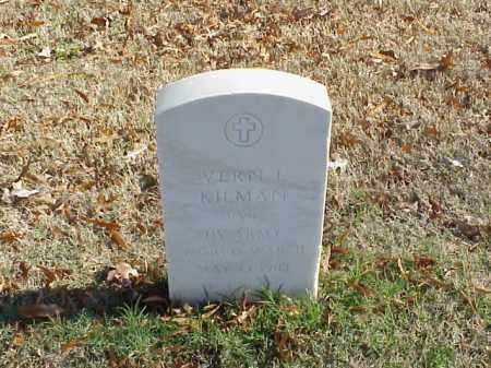 KILMAN (VETERAN WWII), VERN L - Pulaski County, Arkansas | VERN L KILMAN (VETERAN WWII) - Arkansas Gravestone Photos