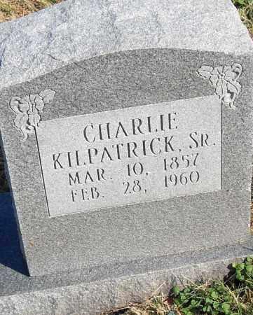 KILPATRICK  SR, CHARLIE - Pulaski County, Arkansas | CHARLIE KILPATRICK  SR - Arkansas Gravestone Photos