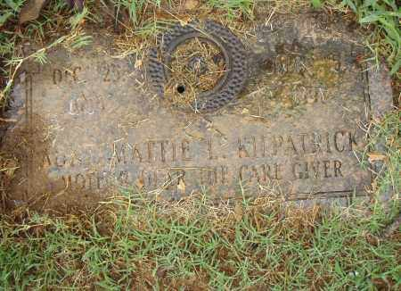 KILPATRICK, MATTIE L. - Pulaski County, Arkansas | MATTIE L. KILPATRICK - Arkansas Gravestone Photos
