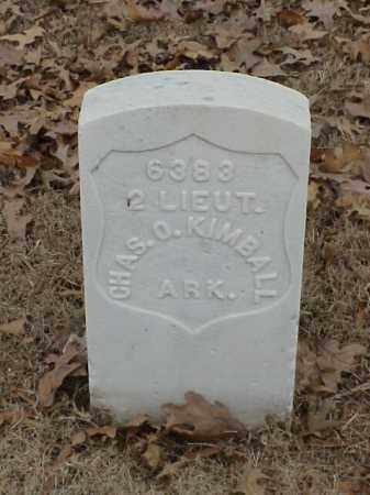 KIMBALL (VETERAN SAW), CHARLES O - Pulaski County, Arkansas | CHARLES O KIMBALL (VETERAN SAW) - Arkansas Gravestone Photos