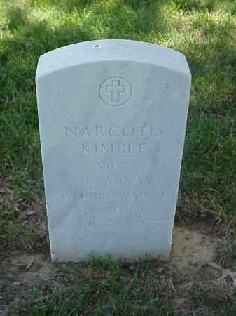 KIMBLE (VETERAN WWII), NARCOTIS - Pulaski County, Arkansas | NARCOTIS KIMBLE (VETERAN WWII) - Arkansas Gravestone Photos