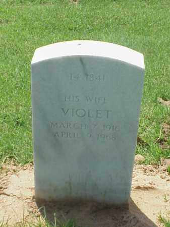 KIMBREL, VIOLET - Pulaski County, Arkansas | VIOLET KIMBREL - Arkansas Gravestone Photos
