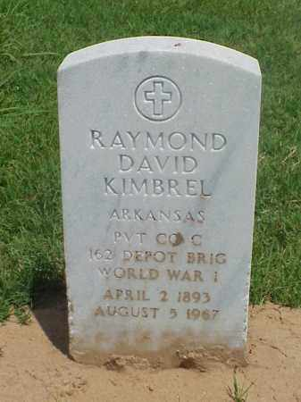 KIMBREL (VETERAN WWI), RAYMOND DAVID - Pulaski County, Arkansas | RAYMOND DAVID KIMBREL (VETERAN WWI) - Arkansas Gravestone Photos
