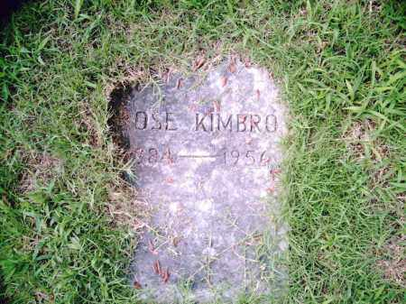 KIMBRO, ROSE - Pulaski County, Arkansas | ROSE KIMBRO - Arkansas Gravestone Photos